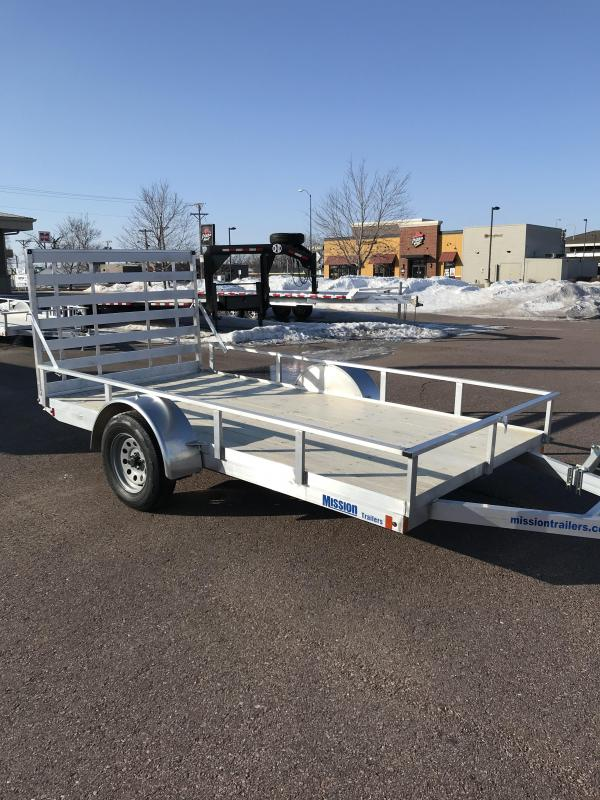 2020 Mission 6x12 ATV Trailer