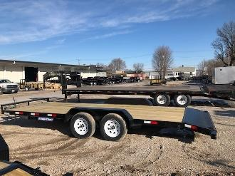 Price Reduced! 2019 Sure-Trac 7 x 20 C-Channel Car Hauler 7K