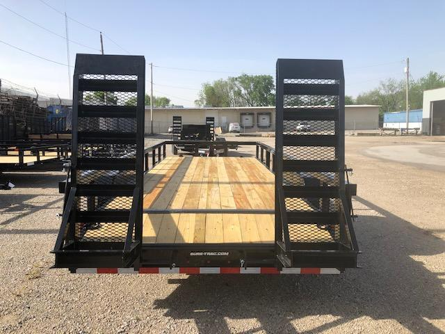 2019 Sure-Trac 7 x 18 14K Heavy Duty Equipment Trailer