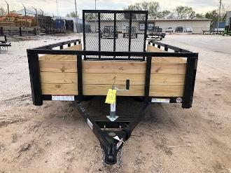 Price Reduced! 2019 Sure-Trac 6 x 10 Tube Top 3-Board 3K Idler Utility Trailer