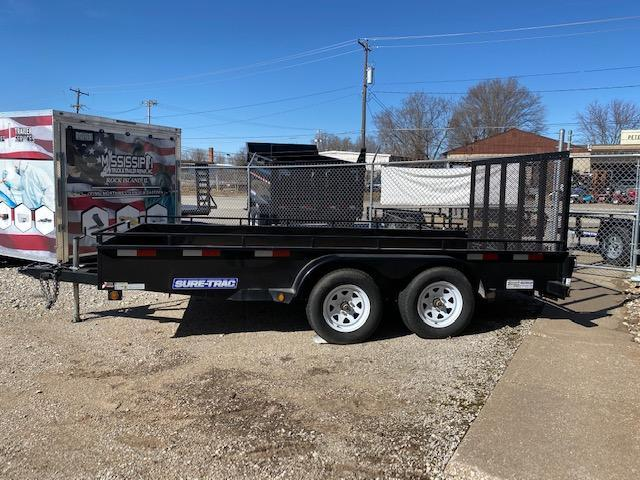 Rental - 2015 Sure-Trac 7 X 14 TA Steel High Side Utility Trailer