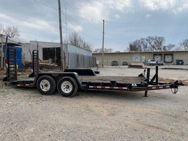 Used 2009 B-B Skid Steer Equipment Trailer