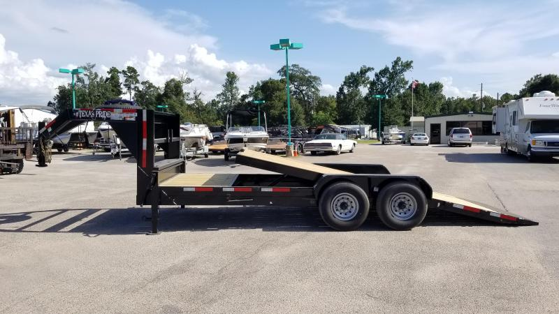 2019 Texas Pride Trailers 21' Tilt Equipment Trailer