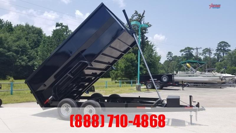 2020 U.S. Built 7X14X4 DUMP TRAILER BP 14K Dump Trailer