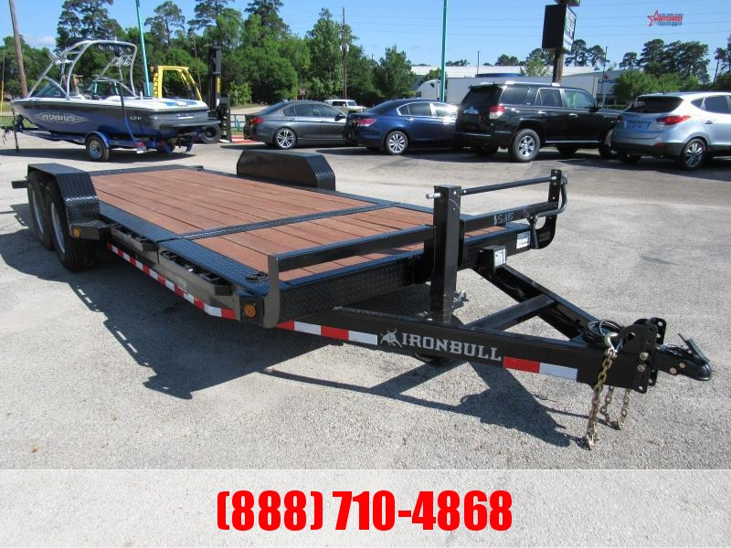 "2020 Iron Bull TLB 83"" x 20' Lowboy TILT Equipment Trailer"