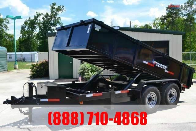 2020 TEXAS PRIDE 7' X 14' Dump Trailer 16K