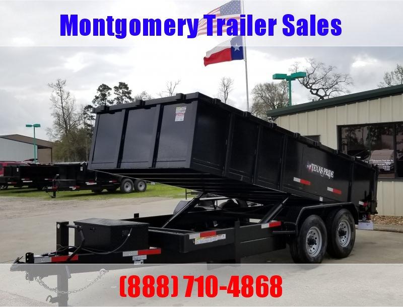 2019 Texas Pride Trailers 7X16X3 BP 16K SPECIAL Dump Trailer