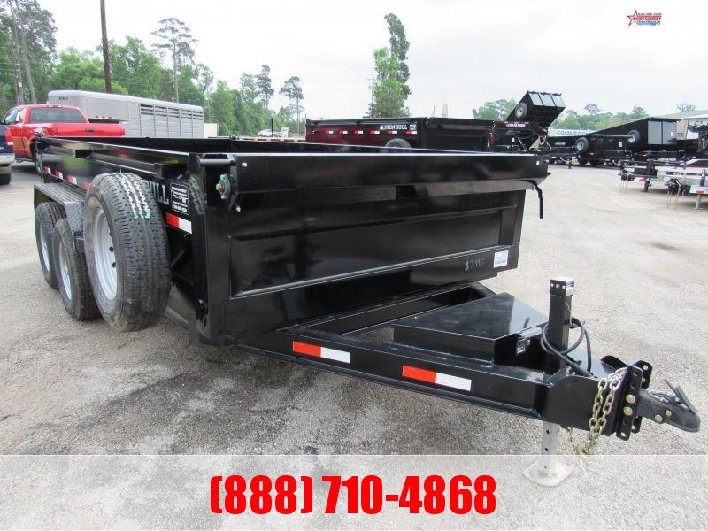 2020 Iron Bull DLB 7' X 14' LOW-PRO Dump Trailer