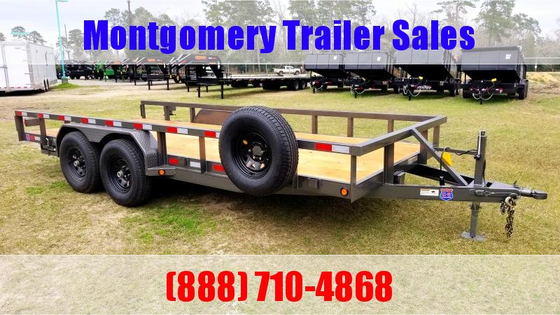 "2019 Chuys C5 Trailers LOWBOY 83""X18' Equipment Trailer"