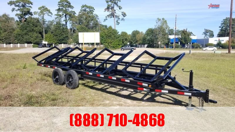 2020 Chuys C5 Trailers 4 BALE HAULER Utility Trailer