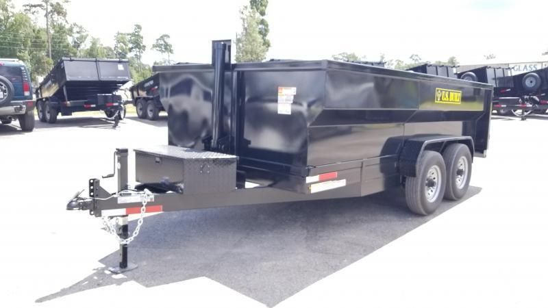 2020 U.S. Built 7X16X3 DUMP TRAILER BP 14K Dump Trailer