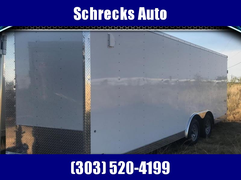 2020 Pace American Outback 8.5 x 20 Enclosed Cargo Trailer