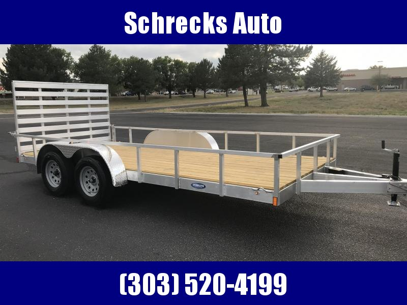 2020 EverLite Inc. 82x16 all aluminum Utility Trailer