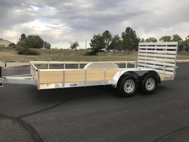 2020 EverLite Inc. 82x16 all aluminum Utility Trailer