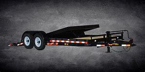 2020 Doolittle Trailer Mfg 20 foot Tilt Equipment Equipment Trailer