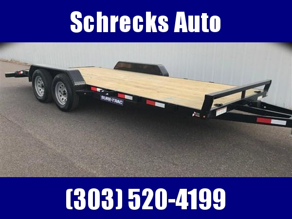 2020 Sure-Trac C-Channel Car Hauler Trailer