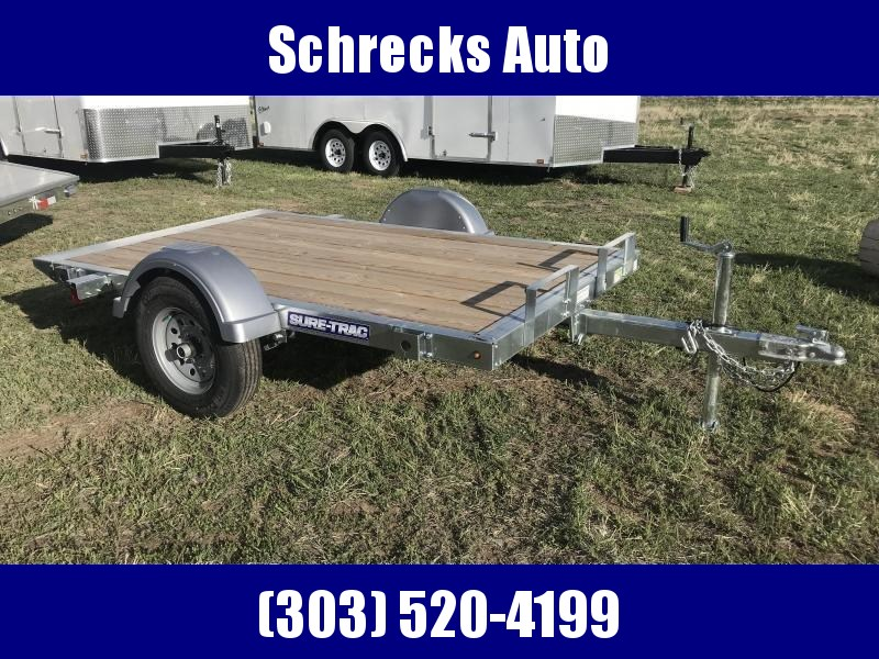 2019 Sure-Trac 5 x 8 Galvanized Utility Trailer