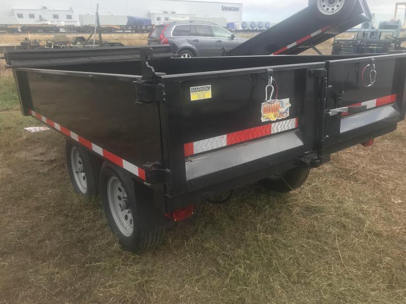 2019 Quality Steel Trailer 6 x 10 Hydraulic Dump Trailer