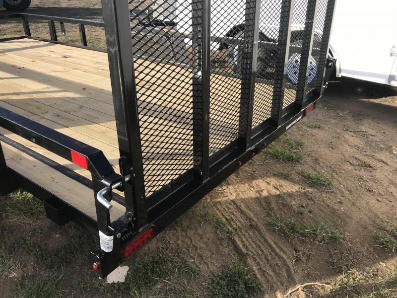 2020 Sure-Trac Tube Top Landscape / Utility Trailer