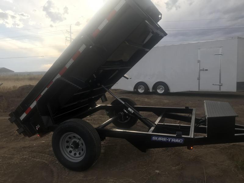 2019 Sure-Trac st6208d-b-050 Dump Trailer