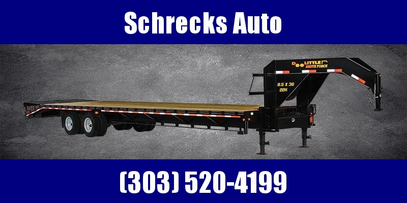 2020 Doolittle Trailer Mfg 22K 32 foot Flatbed Trailer
