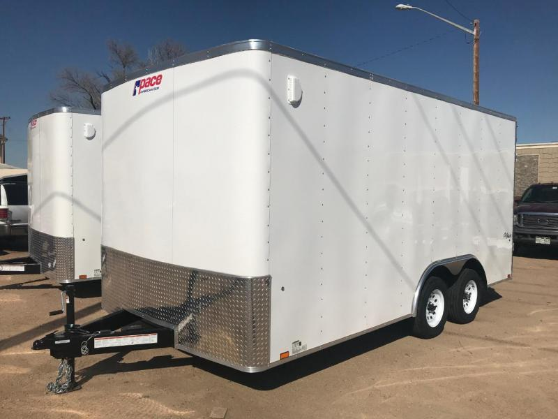 2020 Pace American Outback 8.5 x 18 Enclosed Cargo Trailer