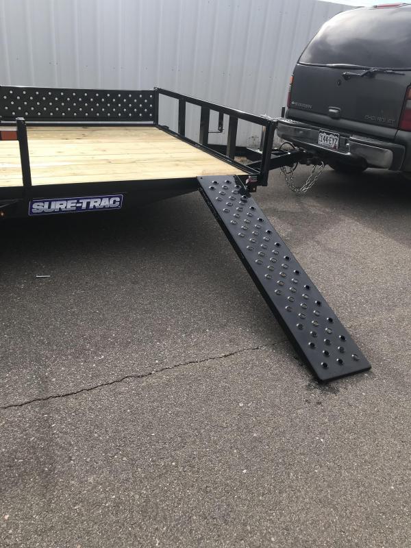 2020 Sure-Trac ATV Tube Top Trailer