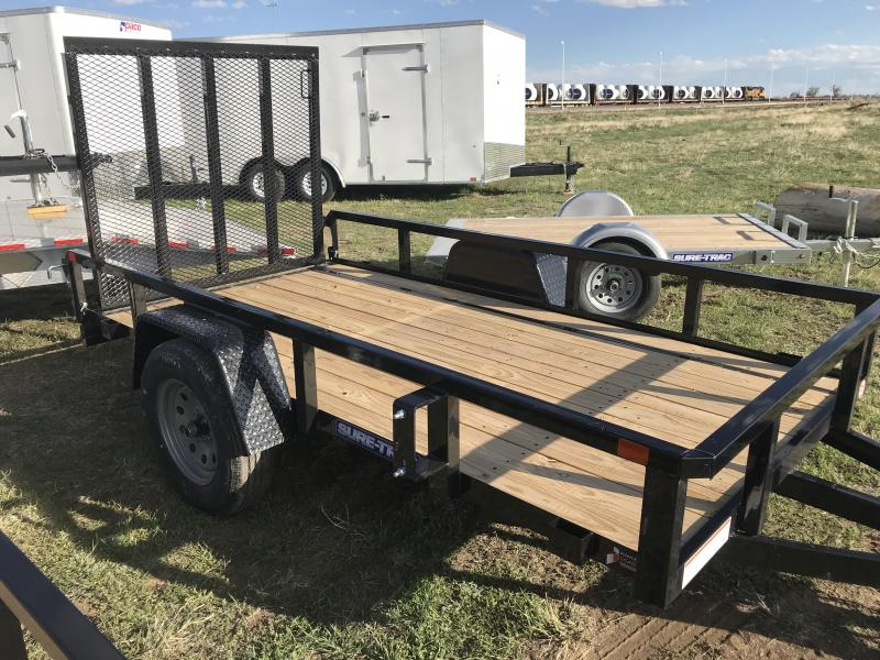 2019 Sure-Trac 5 x 10 Tube Top Utility Utility Trailer