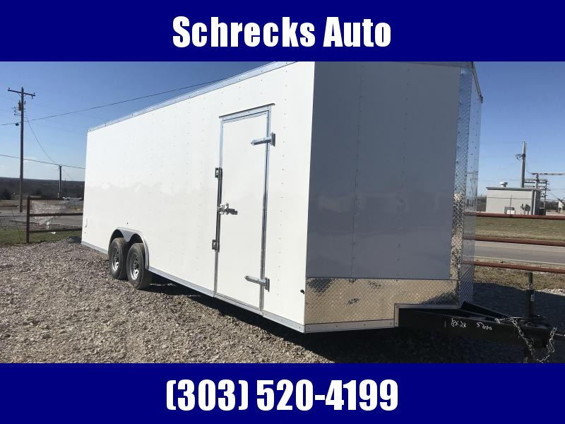 2020 Salvation Trailers 20 ft Cargo / Car hauler Enclosed Cargo Trailer