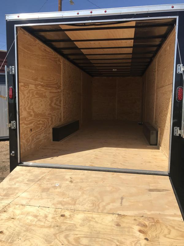 2020 Salvation Trailers 20 ft Cargo / Car hauler Enclosed Cargo Trailer