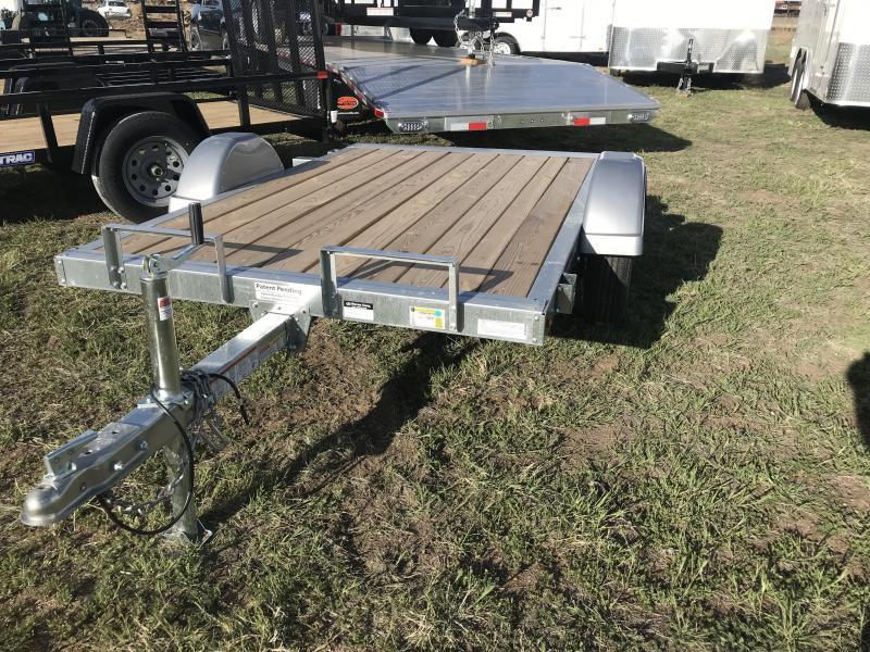 2019 Sure-Trac 5 x 8 Galvanized Utility Trailer