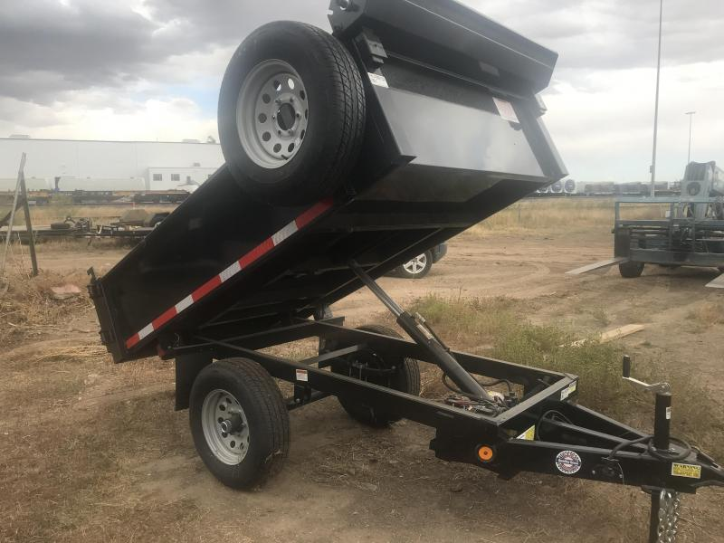 2019 Quality Steel Trailer 5 x 8 Hydraulic Dump Trailer