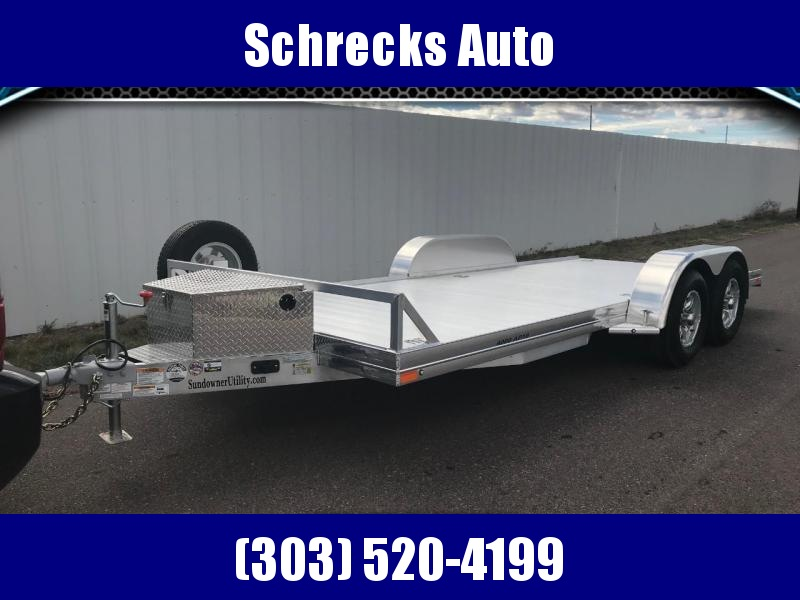 2020 Sundowner AP4000 16' All Purpose Car Hauler Trailer
