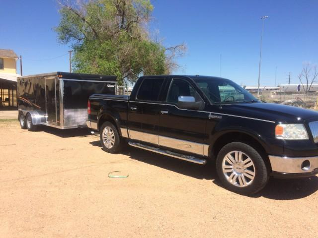 2006 Pace American 7 x 14 Motorcycle Trailer