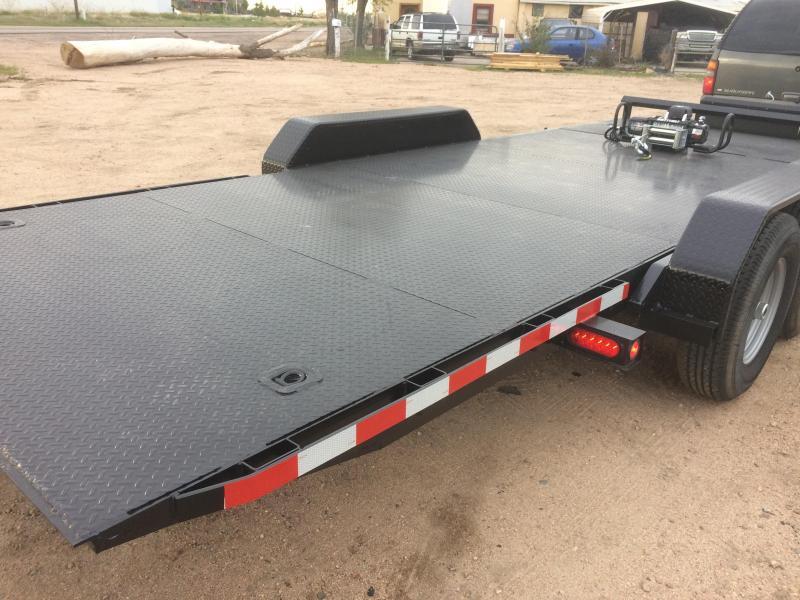 2019 Texoma 20' Tilt Car Hauler 7K Trailer
