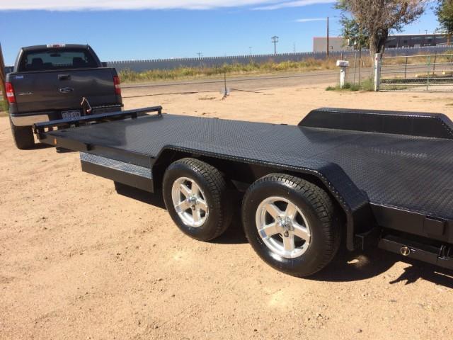 2020 Texoma Full Metal Deck Car Hauler 7K Trailer
