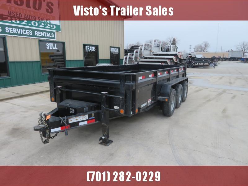 2015 Load Trail 83''X16' Dump Trailer DV831621K