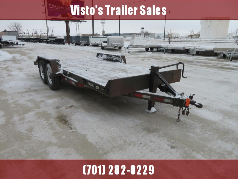 2002 DCT 18' Equipment Trailer 18' Equipment Trailer