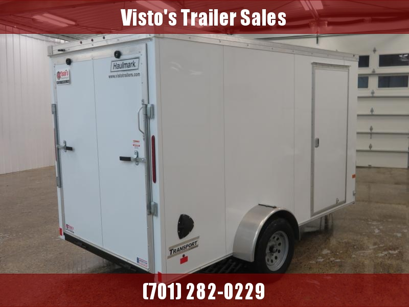 2020 Haulmark 6'X12' Enclosed Trailer TSV612