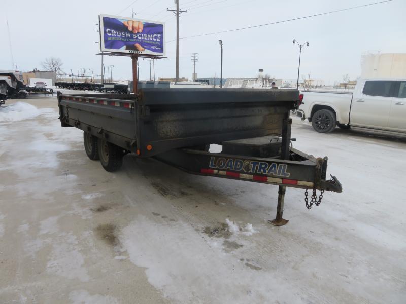 2013 Load Trail 96''X14' Dump Trailer DZ961414K