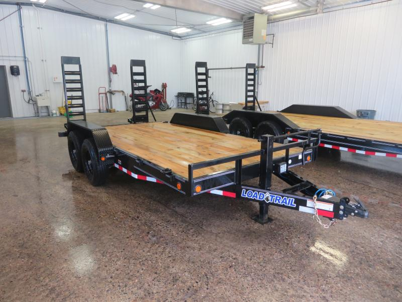 2019 Load Trail 83''X16' Equipment Trailer CH831614K