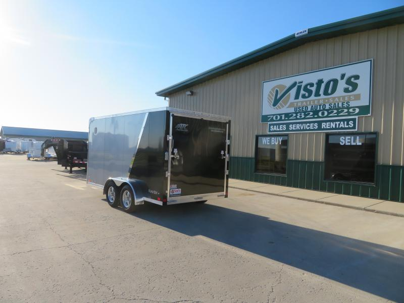 2020 ATC 7'X14' Enclosed Motorcycle Trailer RAVAB7147K