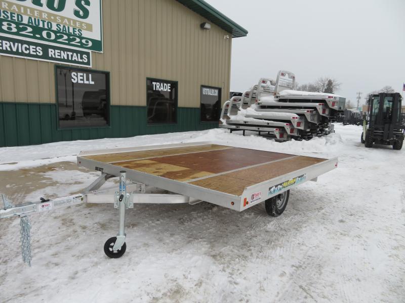 """2021 Aluma 8'6""""X10' Snowmobile Trailer 8610T"""