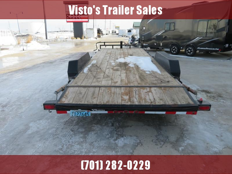 2013 Load Trail 83''X20' Equipment Trailer CH832014K
