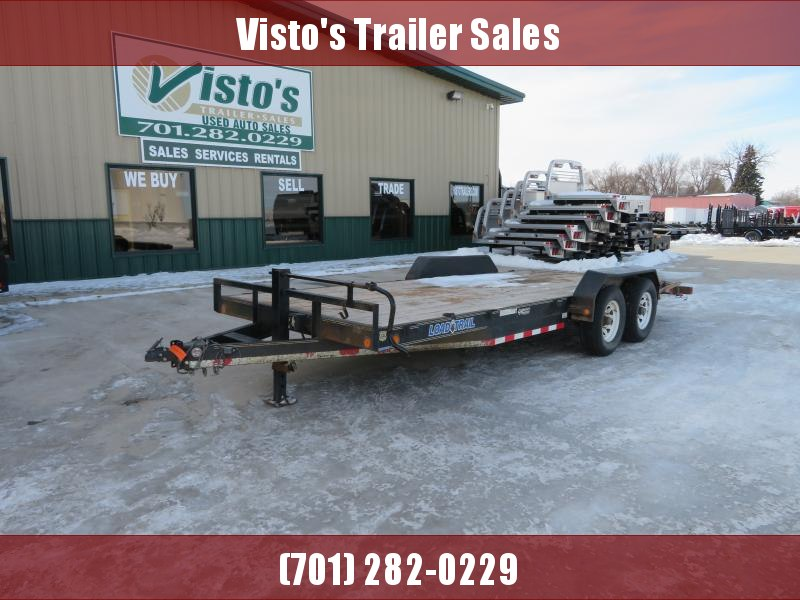 2013 Load Trail 83''X20' Equipment Trailer CH832014K