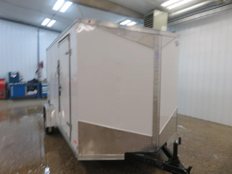 2020 MTI 7'X12' Enclosed Trailer