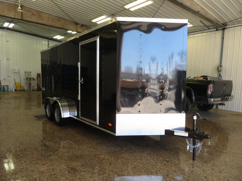 2020 Bravo 7'X16' Enclosed Trailer