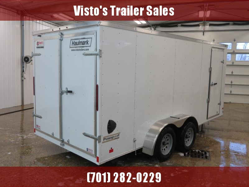 2020 Haulmark 7'X16' Enclosed Trailer PP7167K