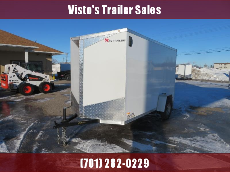 2020 Rc Trailers 6'X12' Enclosed Trailer RDLX612