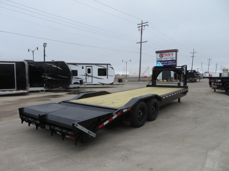 2020 Midsota 102''X24' Gooseneck Equipment Trailer STWB022416K
